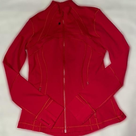 LuLu Lemon Define Zip Up Active Wear Coat